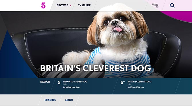 Britain's Cleverest Dog, Channel 5